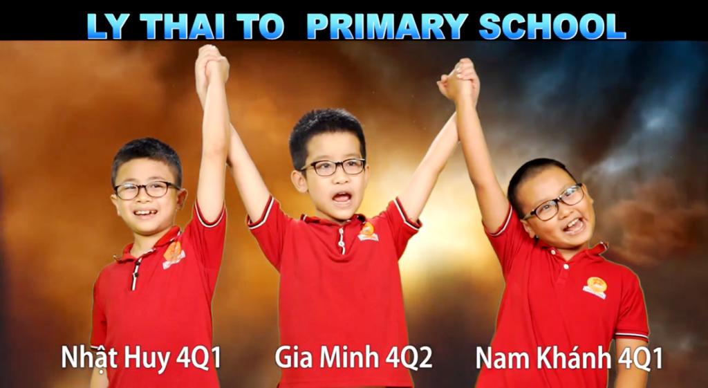 Chúc mừng team Lý Thái Tổ đã xuất sắc vào chung kết  toàn quốc cuộc thi Alo English