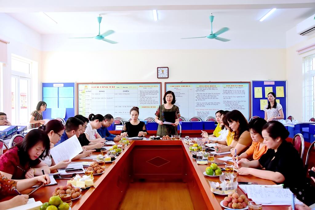 Trường Tiểu học Lý Thái Tổ hoàn thành tốt các nội dung thanh tra chuyên đề
