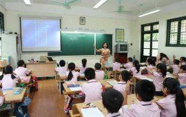 Lịch thi giáo viên dạy giỏi cấp trường khối lớp 4 và khối lớp 5.