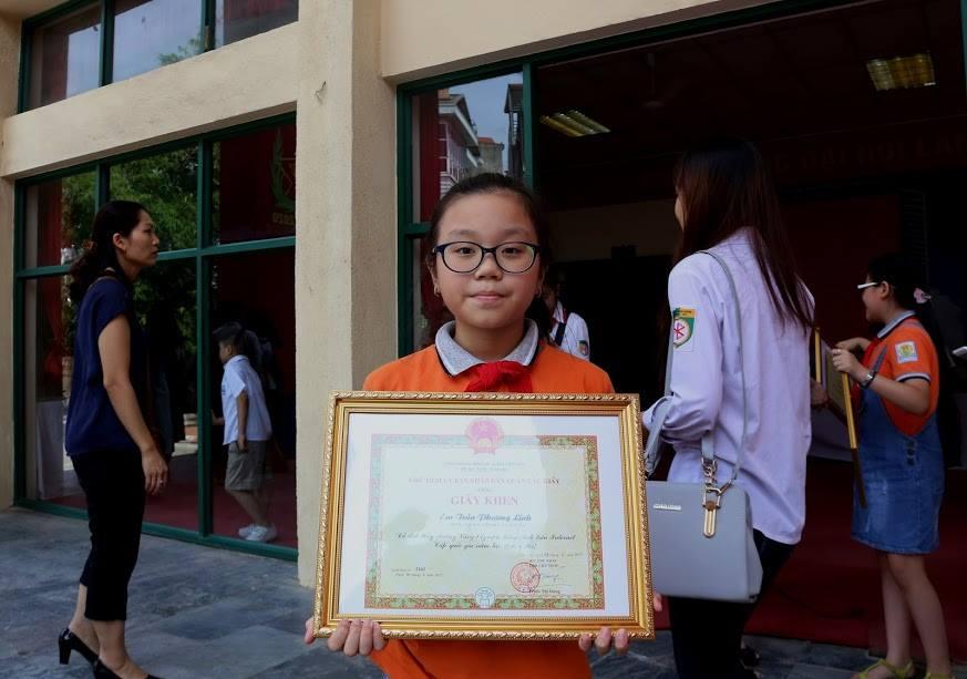 Trần Phương Linh - lớp 5A1