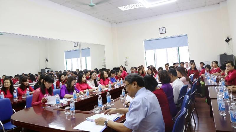 Đại hội Công đoàn trường Tiểu học Lý Thái Tổ nhiệm kỳ 2017-2022 thành công tốt đẹp