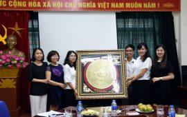 Đoàn giáo sinh trường ĐHSP Hà Nội hoàn thành tốt đợt thực tập tại trường