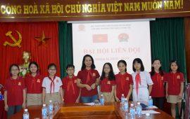 Đại hội Liên đội trường Tiểu học Lý Thái Tổ nhiệm kì 2018-2019