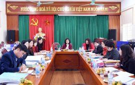 Phòng GD&ĐT quận Cầu Giấy thực hiện thanh tra chuyên đề tại trường Tiểu học Lý Thái Tổ