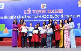 LỄ VINH DANH KỲ THI TÌM KIẾM TÀI NĂNG TOÁN HỌC QUỐC TẾ ITMC 2019