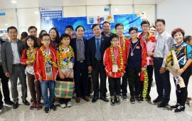 Phóng sự ngắn của Đài TH Hà Nội về kỳ thi ITMC 2019 tại Thái Lan