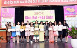 Trao giải Hội thi Khai bút-Hoa xuân 2019