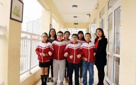 6 học sinh trường Tiểu học Lý Thái Tổ tham dự kỳ thi Olympic Tiếng Anh thành phố Hà Nội lần thứ 16