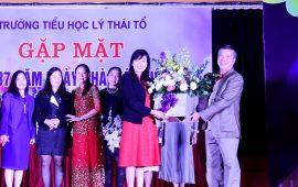 Ấm áp và tràn ngập niềm vui trong buổi gặp mặt đại gia đình Tiểu học Lý Thái Tổ