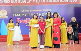 English Festival – Ngày hội Tiếng Anh ở trường Tiểu học Lý Thái Tổ