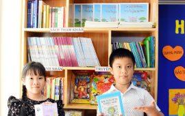 Thư viện trường Tiểu học Lý Thái Tổ với nhiều hoạt động sáng tạo, hấp dẫn